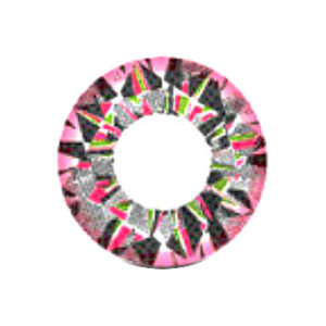 VASSEN DIAMOND 3 TONE PINK COLOR LENS
