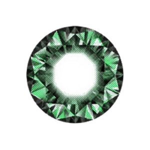 VASSEN DIAMOND GREEN COLOR LENS