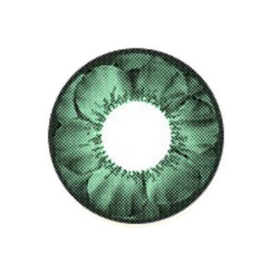 VASSEN FLORA GREEN COLOR LENS