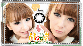 VASSEN HANA GREY COLOR LENS