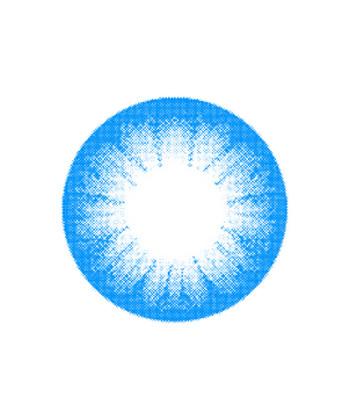 VASSEN CIRCLE BLUE COLOR LENS