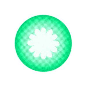 VASSEN MOONLIGHT GREEN COLOR LENS