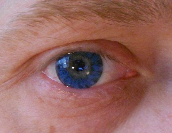 VASSEN SUPER CRYSTAL BLUE COLOR LENS