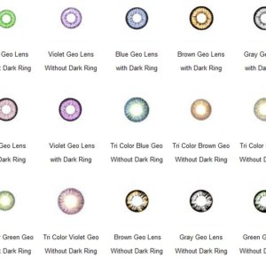 WHOLESALE COLOR LENS: 50 PAIRS = $680