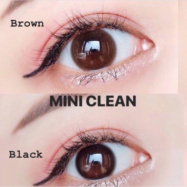 Contact Lens Vassen Mini Clean Brown Color Lens