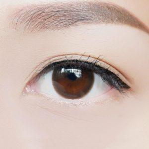 Contact Lens Vassen Mini Clean Brown Color Lens